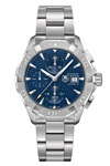 Tag Heuer Aquaracer Chronograph Blue Face