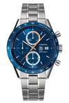 Tag Heuer CV 2015 40th Anniversary Blue Dial Men's Watch