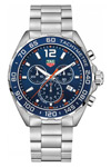 Tag Heuer Formula One CAZ 1017 43 mm Blue Face