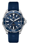 Tag Heuer Aquaracer 43 mm Sun Ray Blue Dial